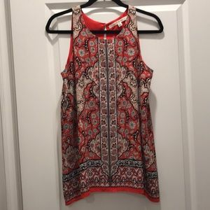 Max Studio Patterned Blouse- Size Small